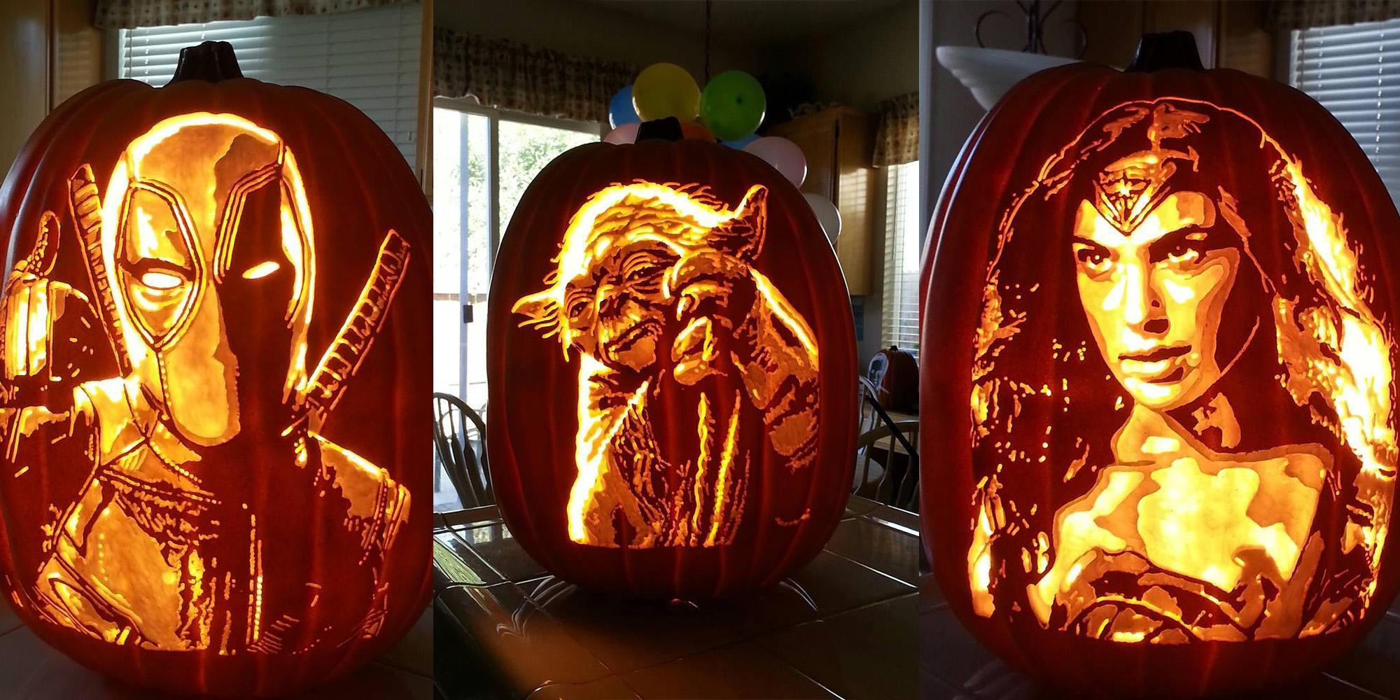 32 Of The Most Impressive Pumpkin Carvings You Ll See This Halloween Indy100