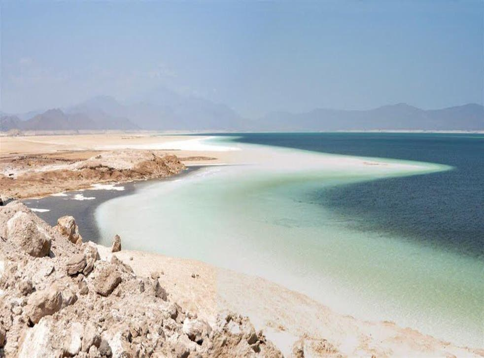 Lake Assal is one of the most intense landscapes out there, says Georgina