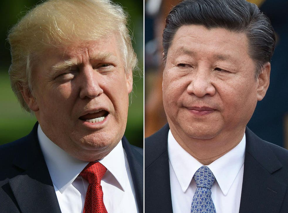 US President Donald Trump and his Chinese counterpart Xi Jinping