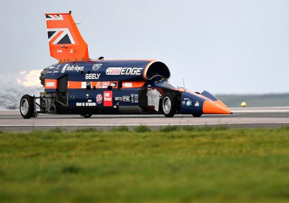 Bloodhound SSC: 1,000mph car secures funding for world