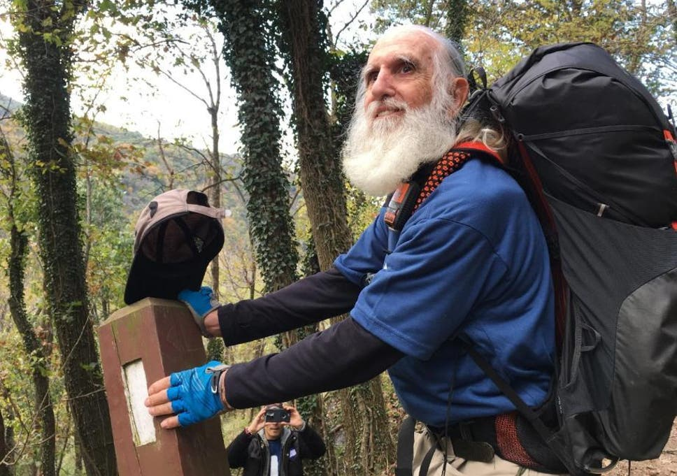 pensioner 82 celebrates becoming oldest man to walk entire length