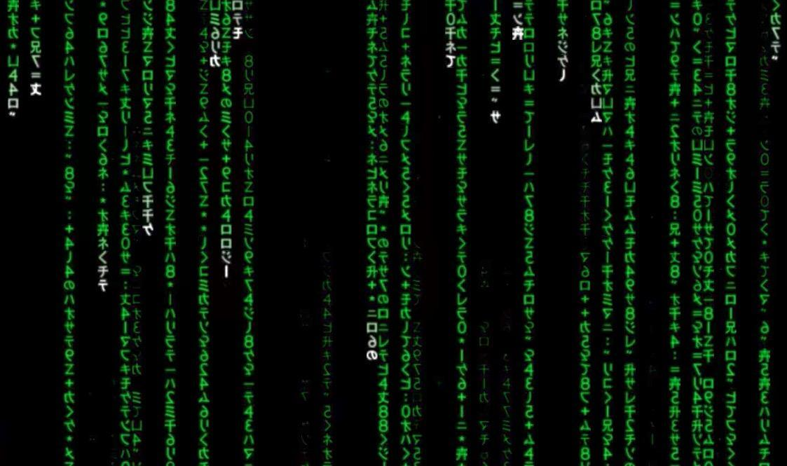 The iconic green code in The Matrix is just sushi recipes ...