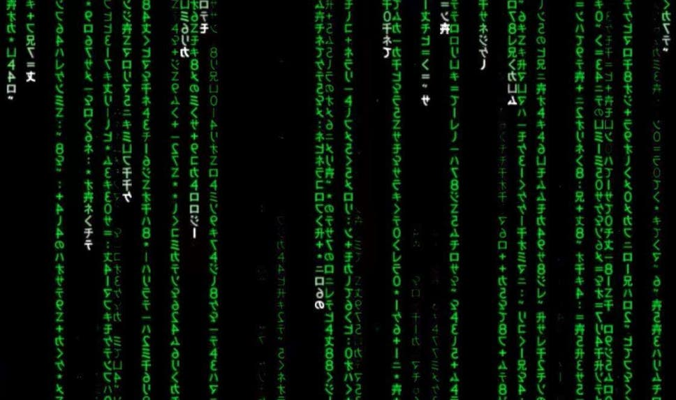 The Iconic Green Code In The Matrix Is Just Sushi Recipes The