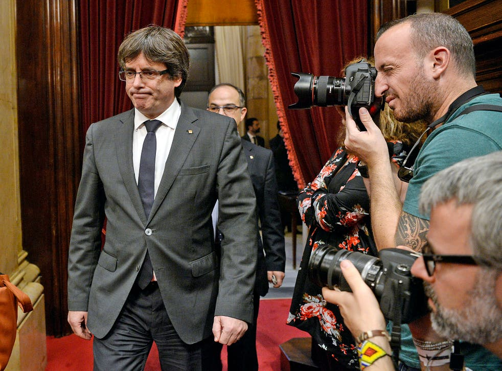 Carles Puigdemont is in Madrid's sights