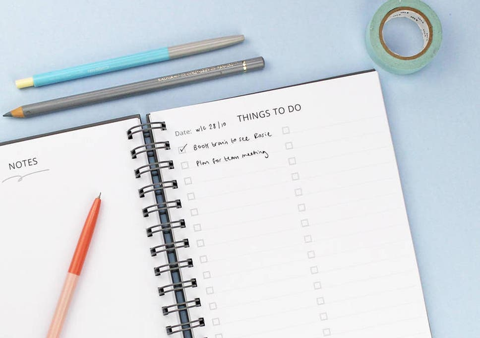 10 best planners for 2019 | The Independent
