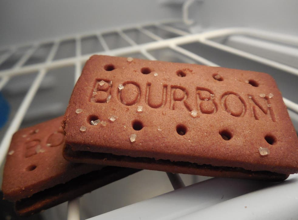 Apparently, it's all to do with the biscuits texture