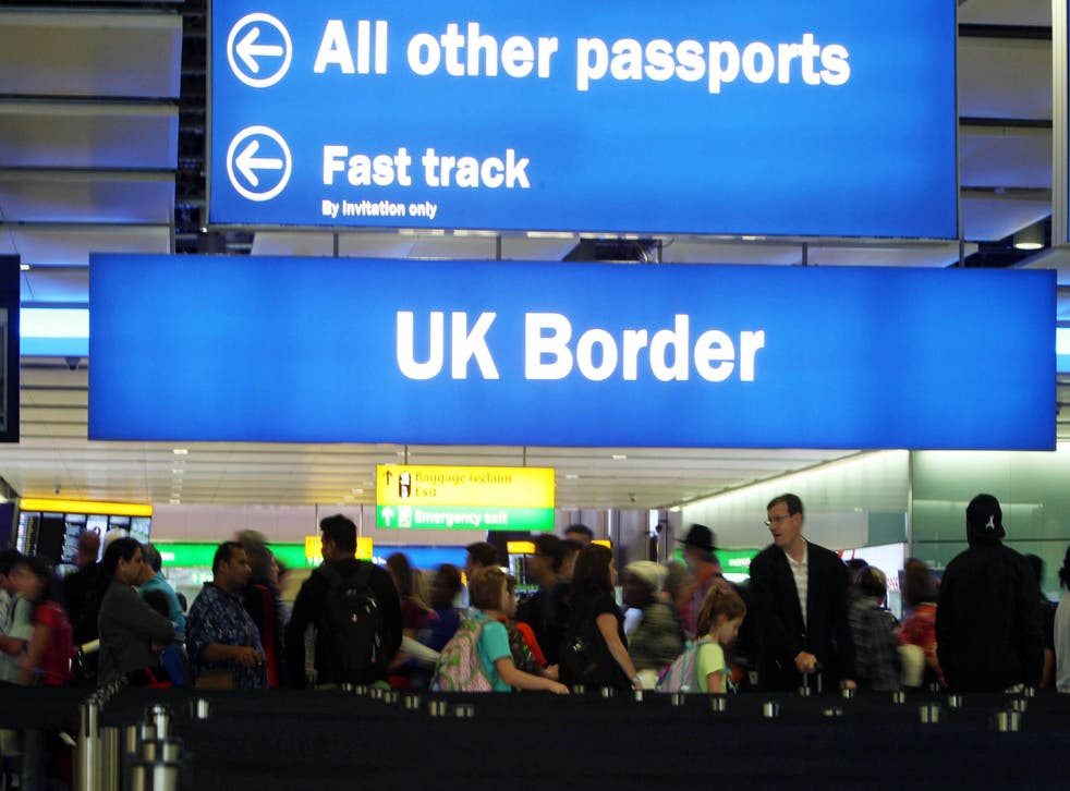 The report also demands better criminal and security checks at borders
