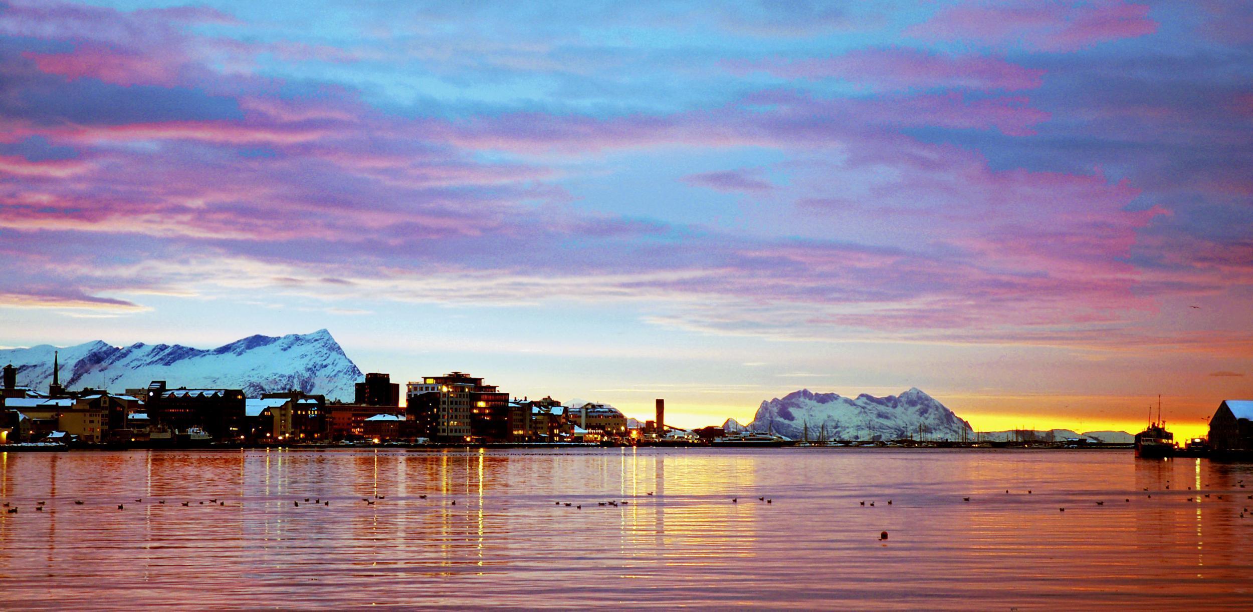 Time to take a break in Bodø
