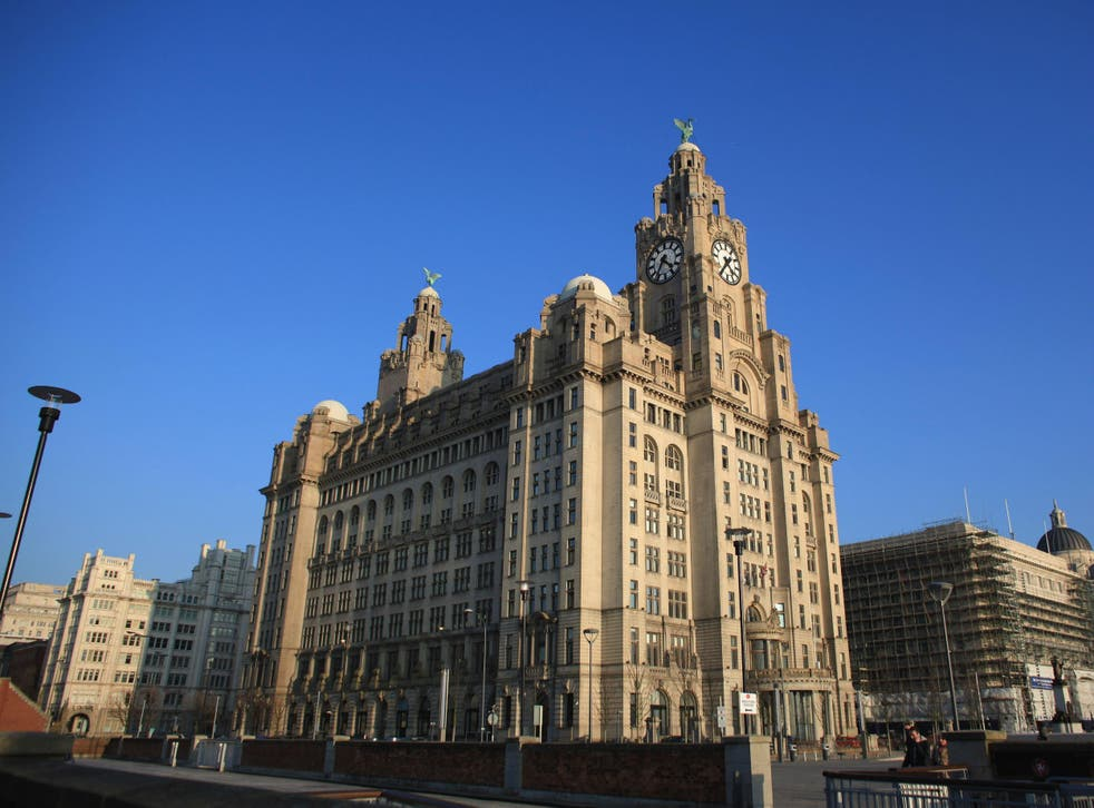The incident took place in Liverpool city centre