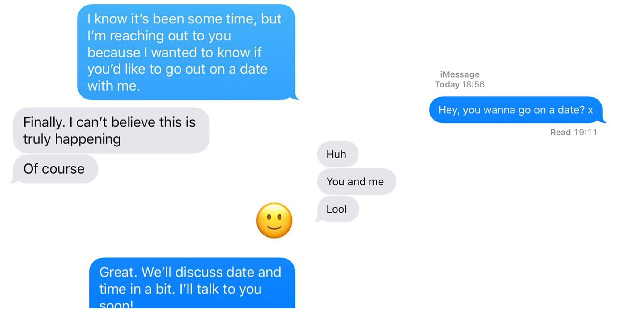 how do you ask someone if you re dating