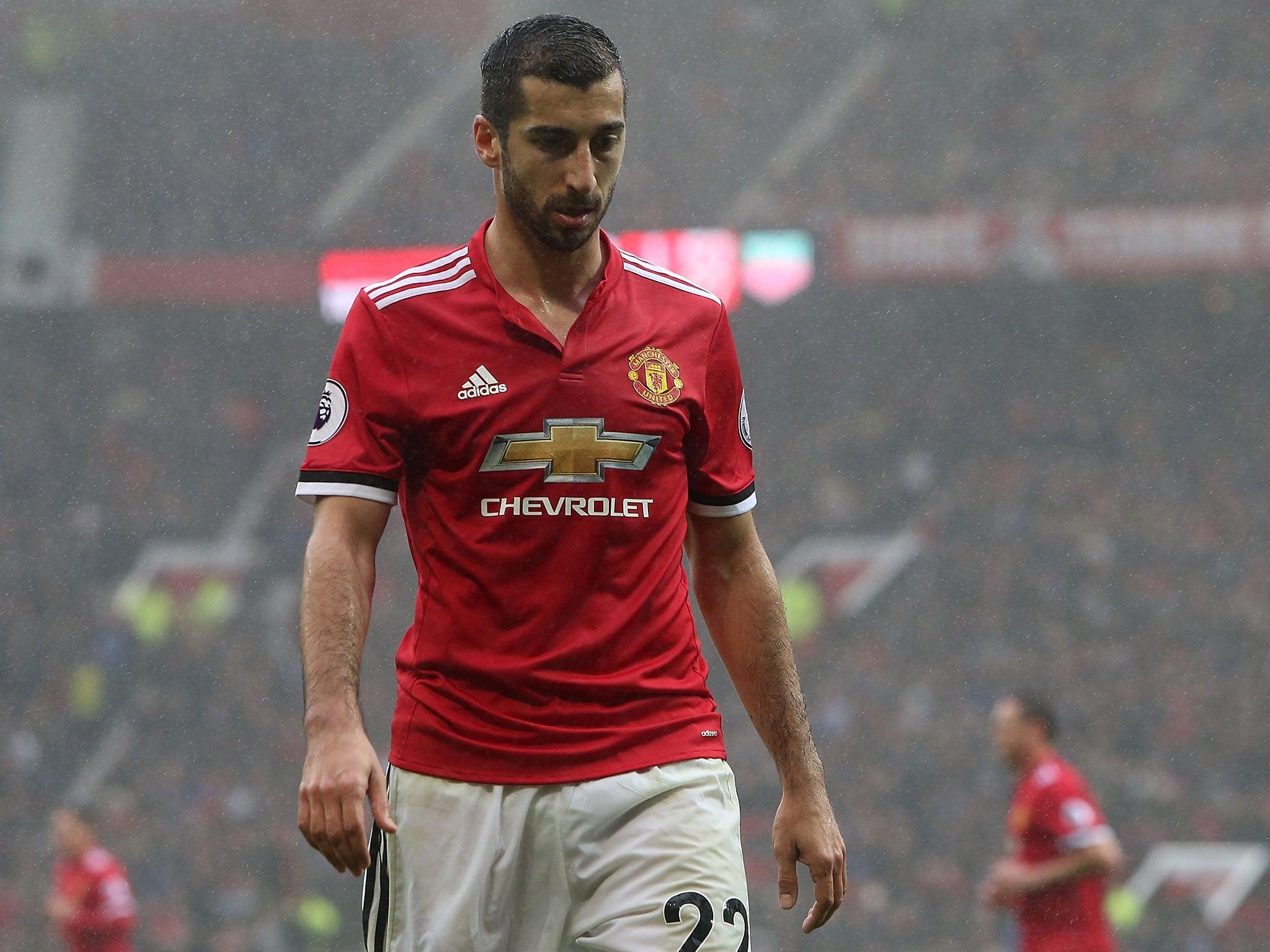 Henrikh Mkhitaryan be es Jose Mourinho s new caged bird in