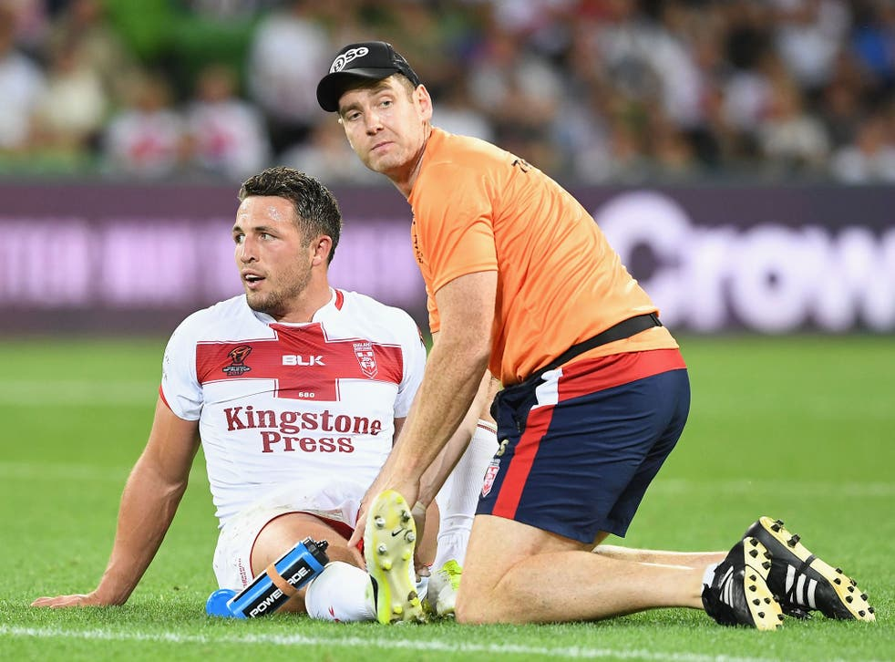 Sam Burgess is set to return to the side for England's quarter-final on Sunday