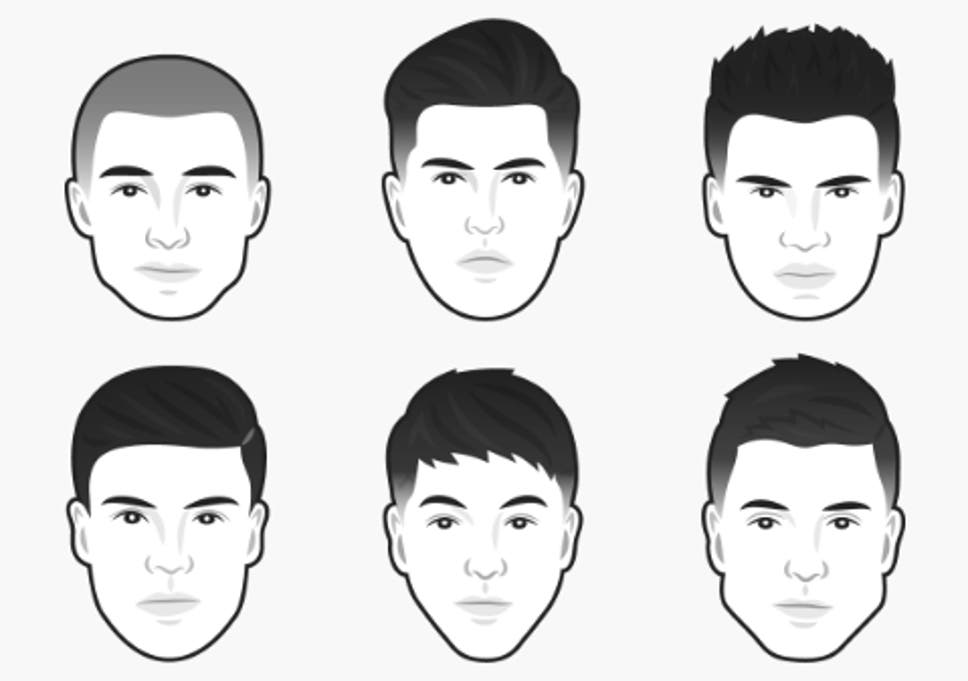 Fabulous The Best Mens Haircut For Every Face Shape The Independent Schematic Wiring Diagrams Amerangerunnerswayorg