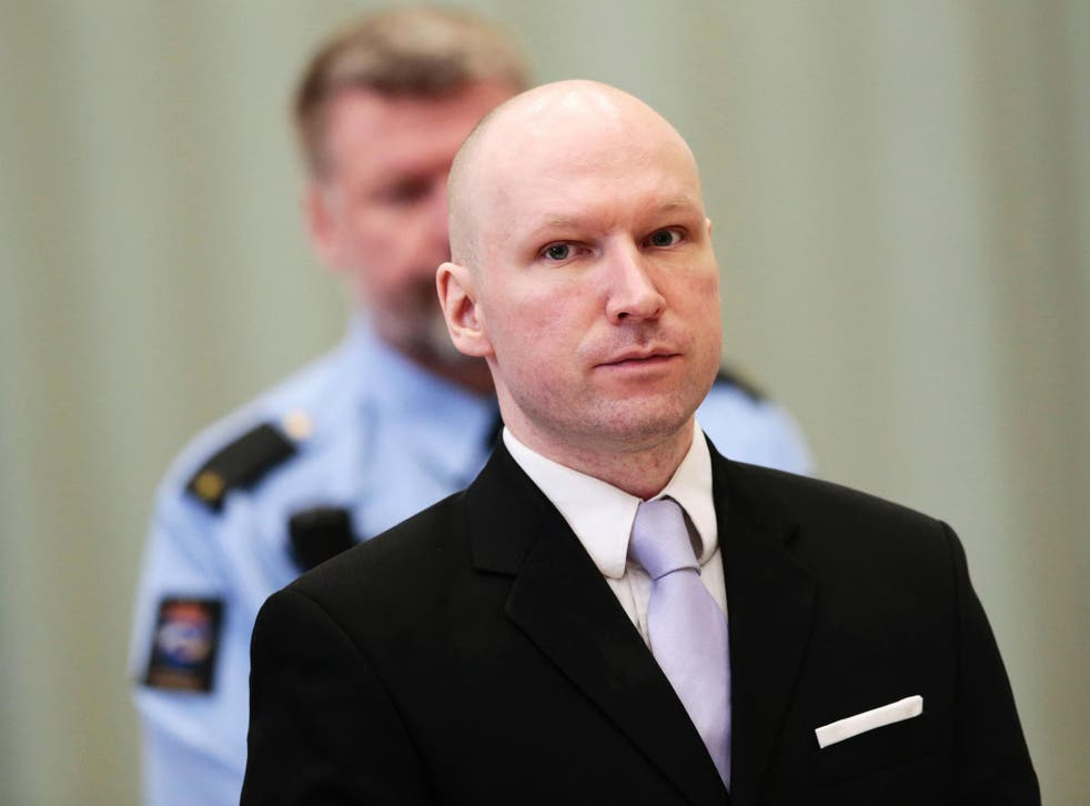 Breivik says his near-isolation in a three-room cell violates a ban on inhuman or degrading treatment and a right to privacy and a family life