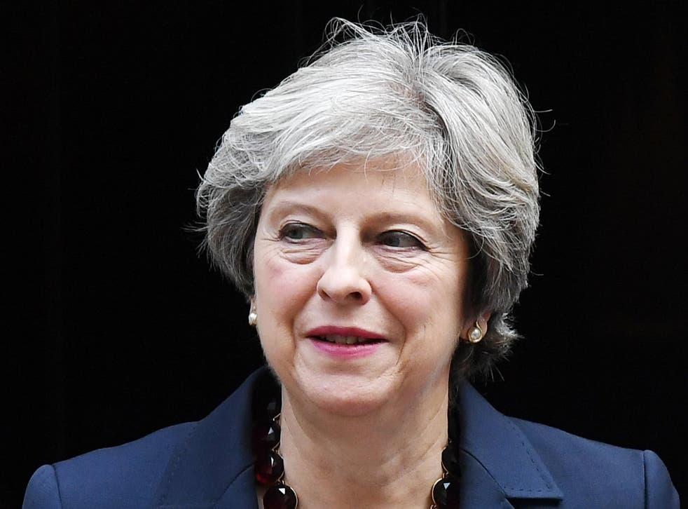 Theresa May: 'Let no-one doubt our determination or question our resolve'