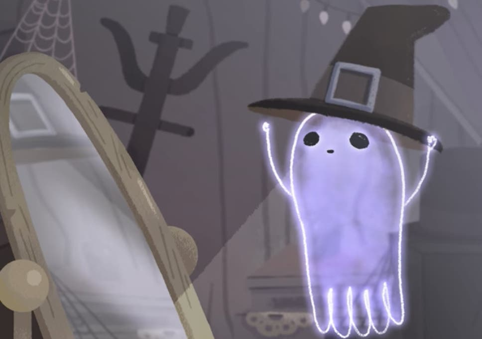 halloween gets sad with google s ghostly doodle the independent