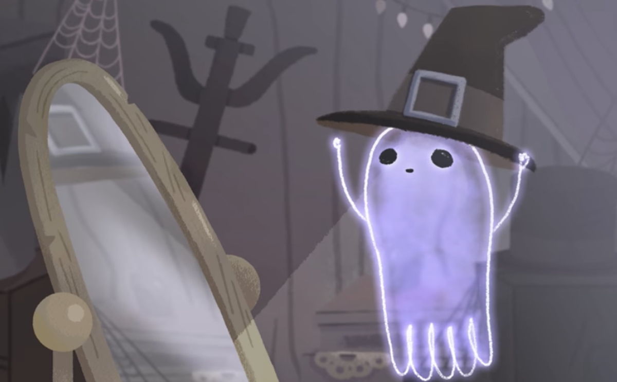 halloween gets sad with google s ghostly doodle the independent the independent sad with google s ghostly doodle