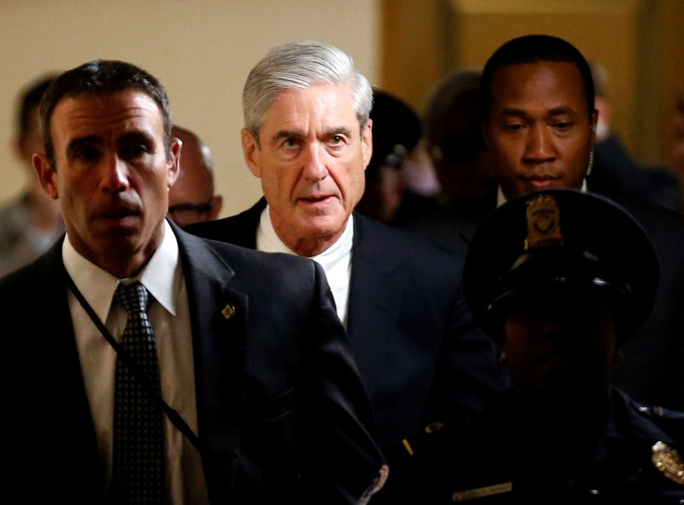 Special counsel Robert Mueller is investigating allegations of collusion between the Trump campaign and Russia