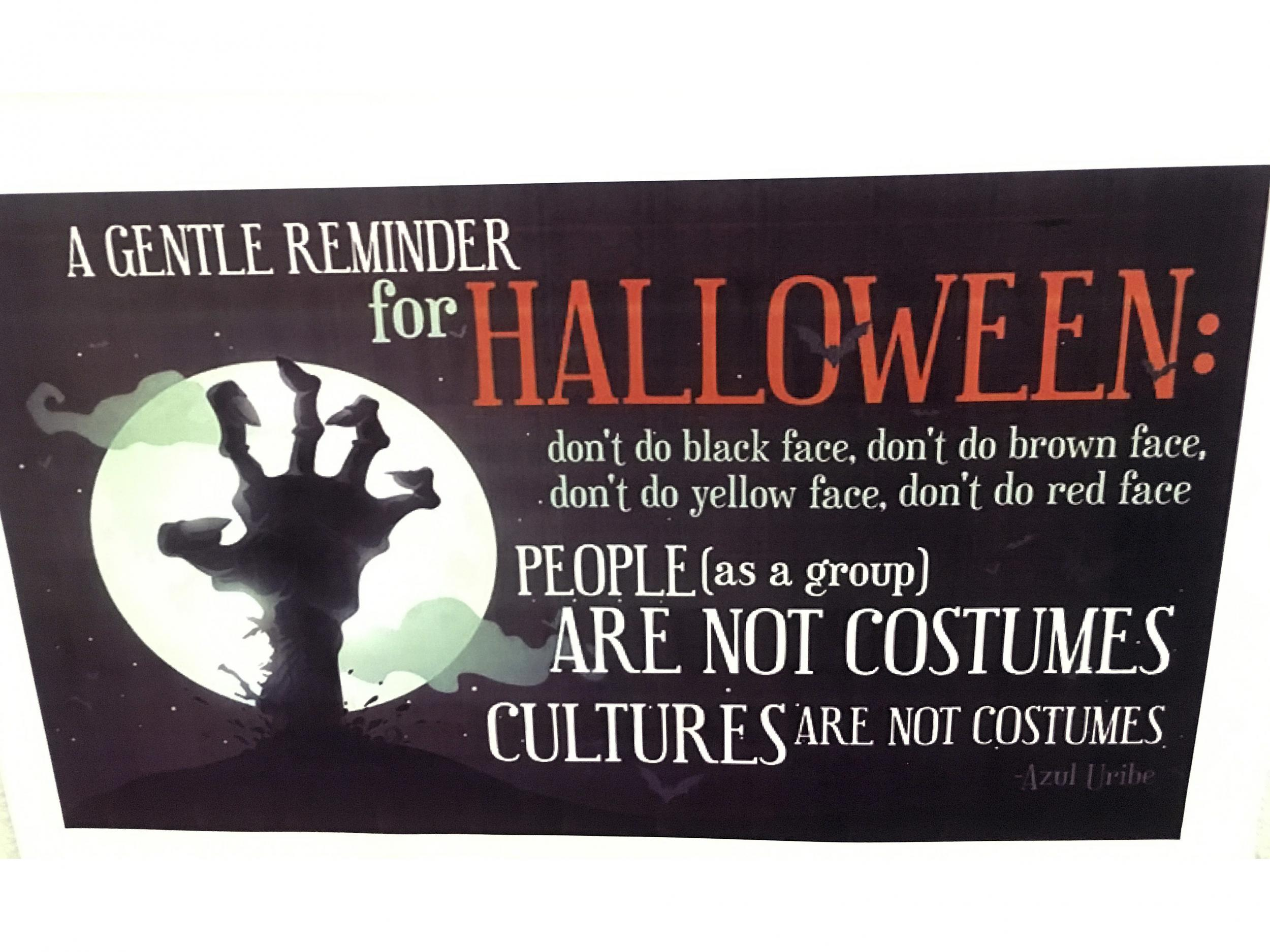 halloween: us universities warn students against culturally