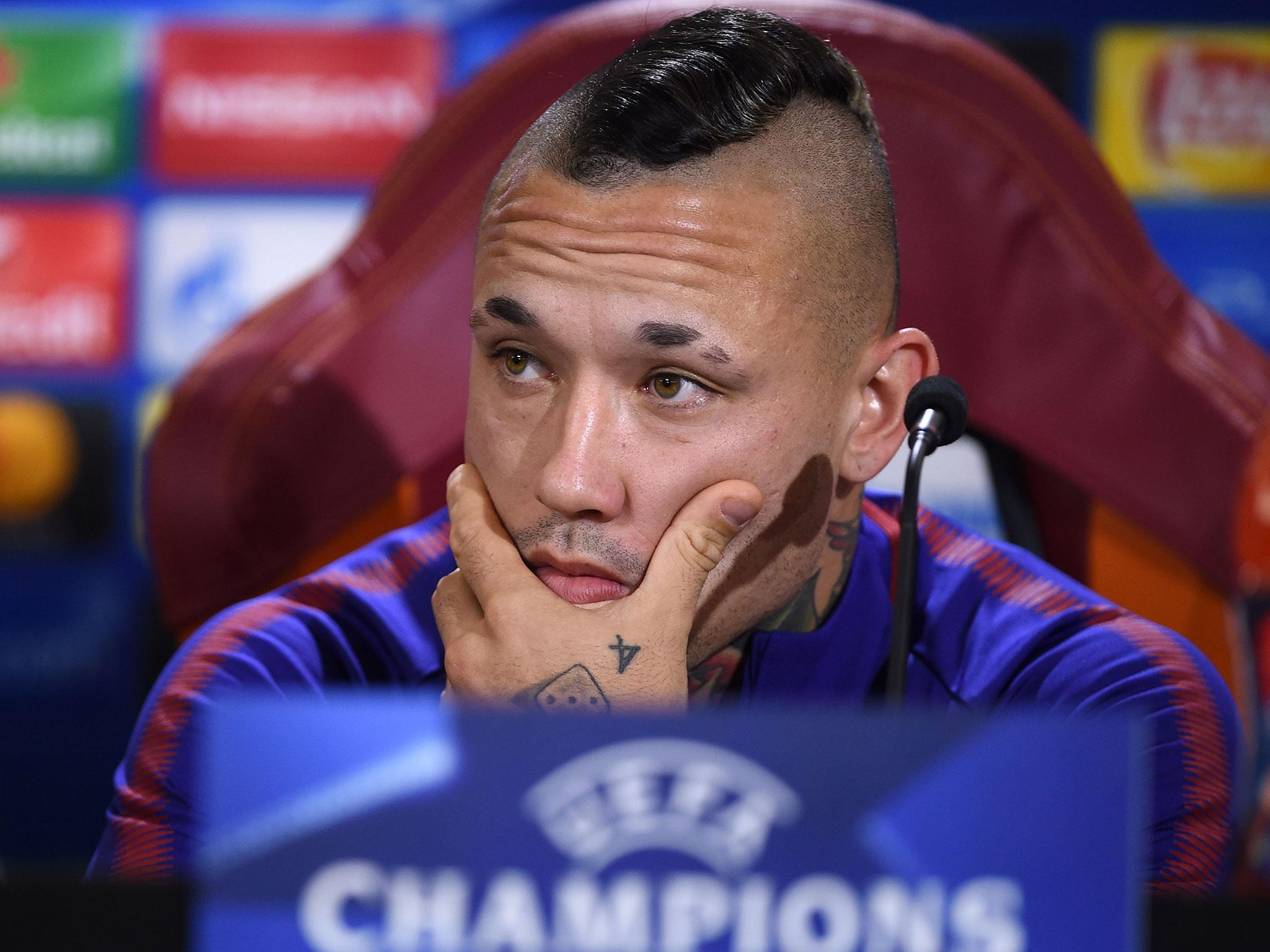 Radja Nainggolan never considered for a minute leaving Roma for