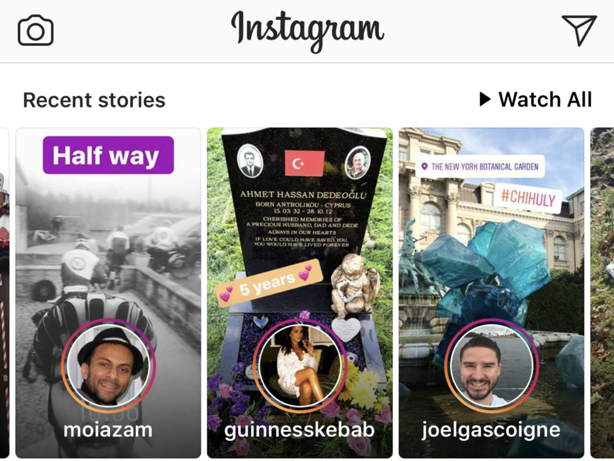Instagram Stories will get in your way more after redesign | The