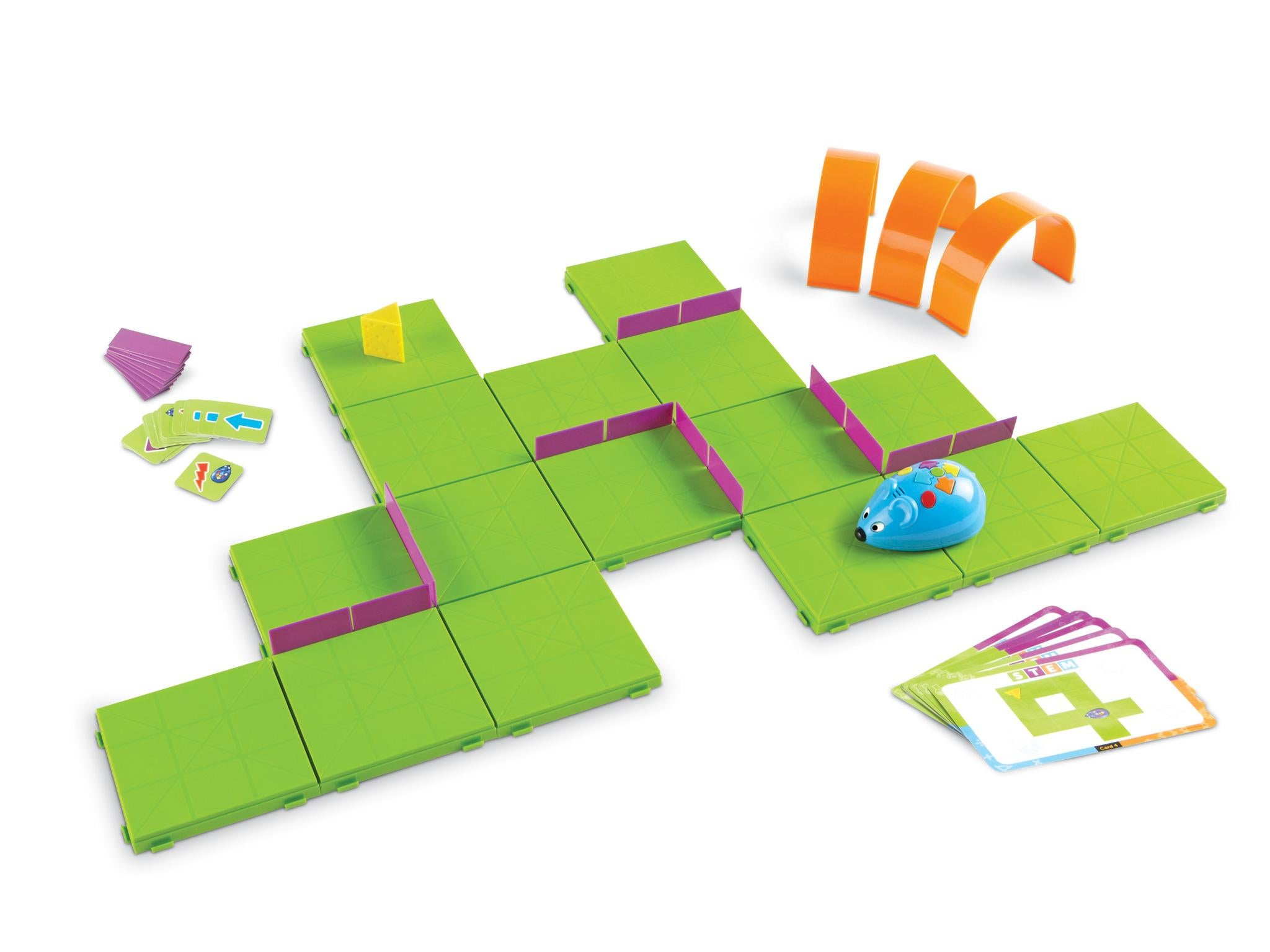 10 best coding toys the independent this brightly coloured kit requires the user to build sequences using playing cards to lead their rodent through solutioingenieria Choice Image