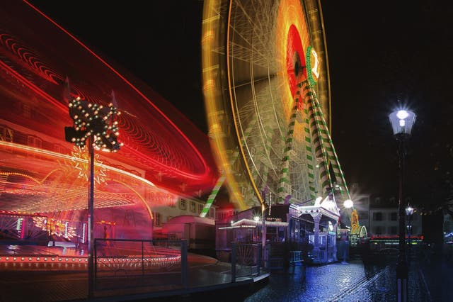 The annual Herbstmesse autumn fair is followed by the Christmas version, which starts on 23 November