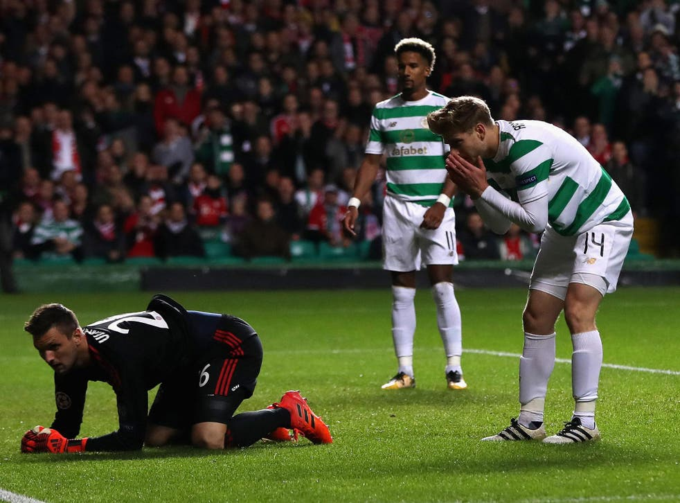 Celtic put up a fight but were unable to get the result