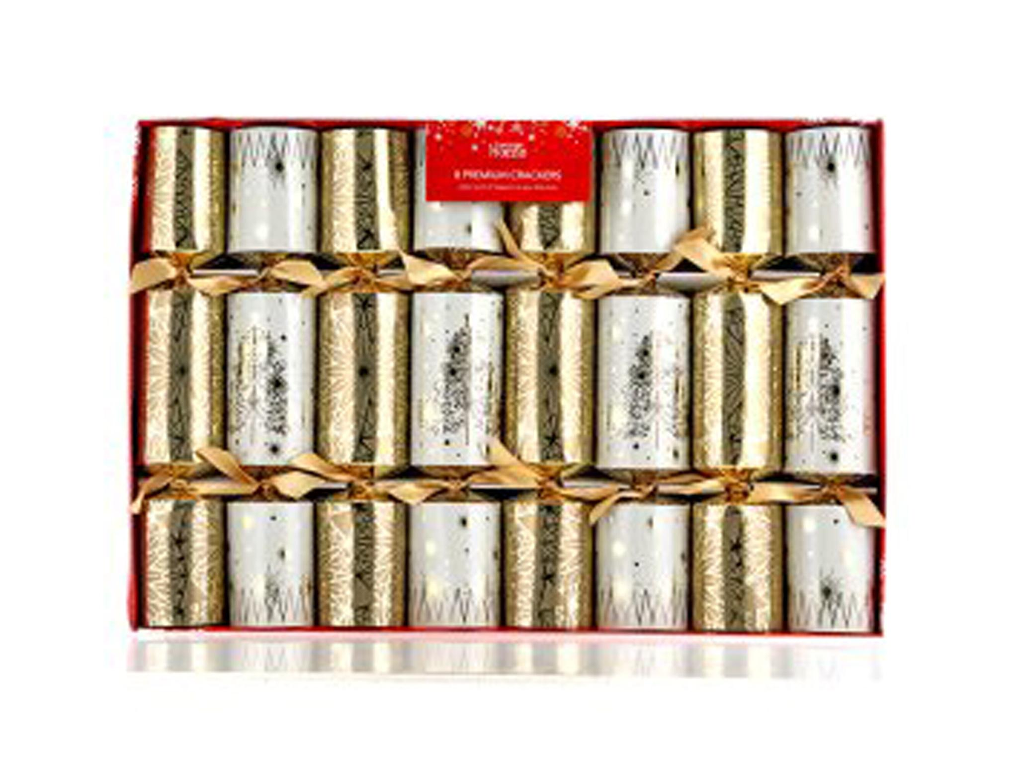 10 best christmas crackers the independent george home premium cracker 5 for 8 asda solutioingenieria Gallery