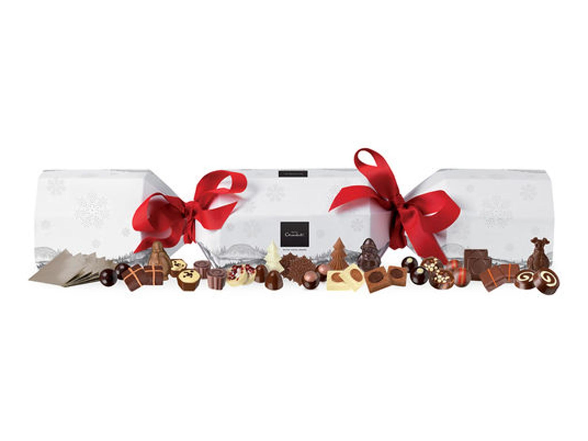 10 best christmas crackers the independent hotel chocolat rather large cracker 36 hotel chocolat solutioingenieria Image collections