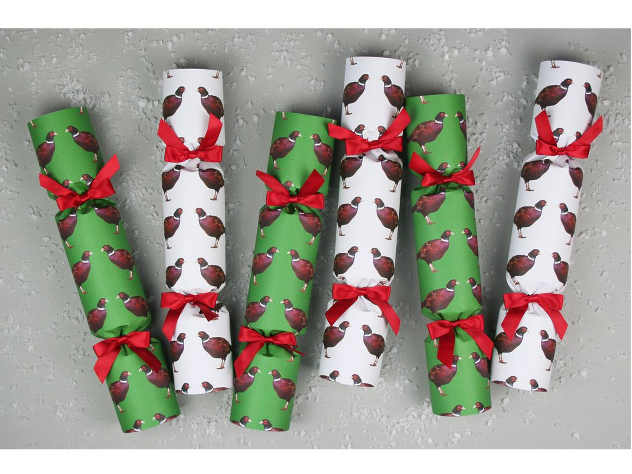 10 best christmas crackers the independent nancy and betty pheasant crackers 35 trouva solutioingenieria Image collections