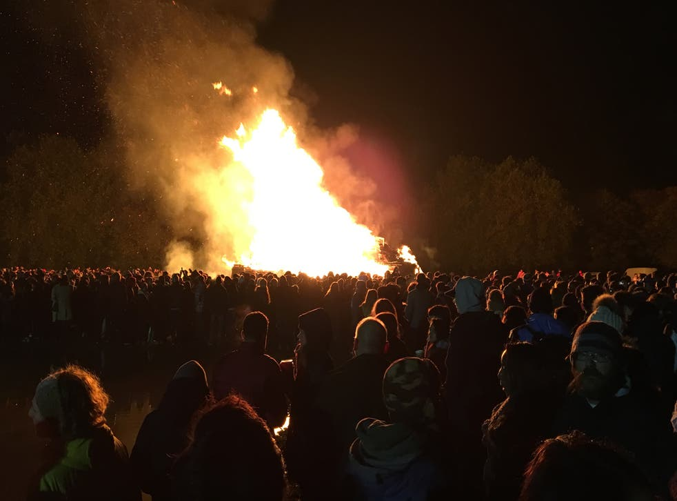 There are plenty of weird and wonderful fire-based festivities around