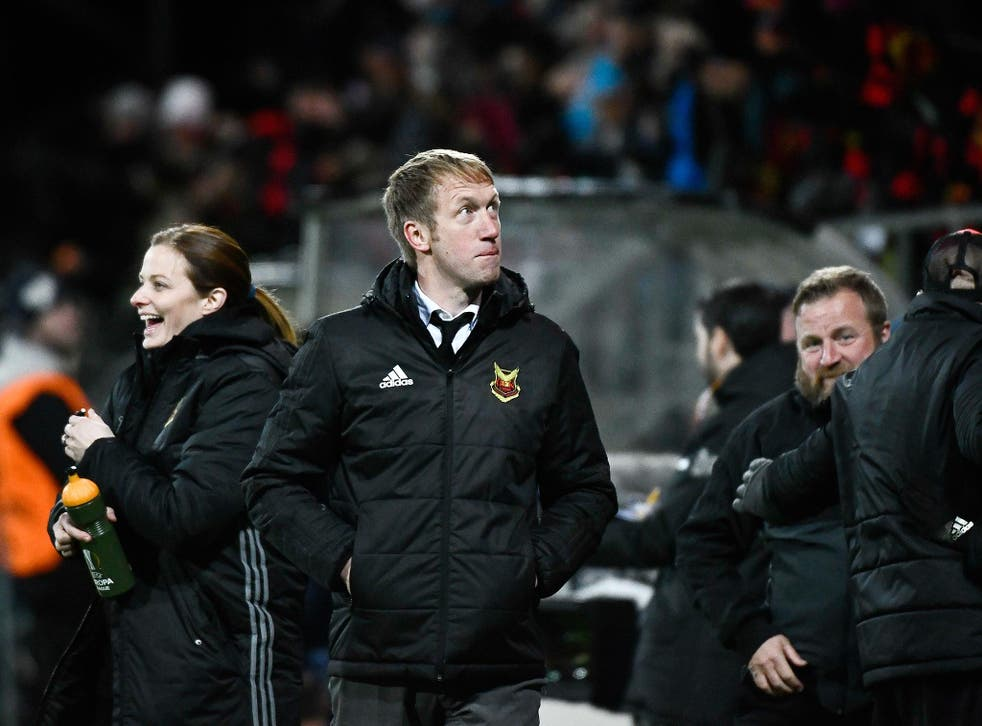 Englishman Graham Potter is making a name for himself in northern Sweden