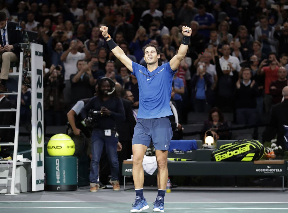 Rafael Nadal: on top of the world