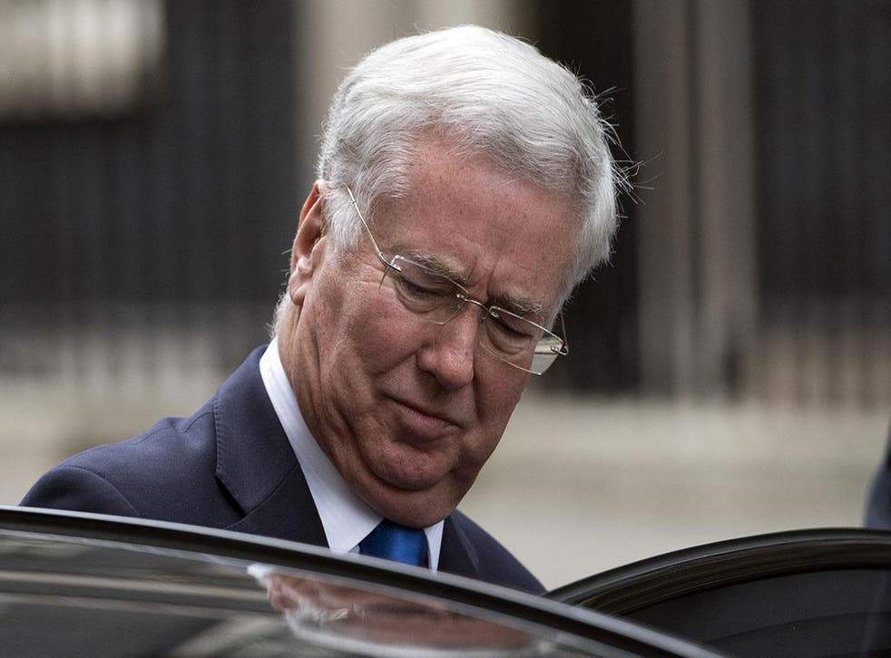 Sir Michael Fallon resigned on Wednesday after reports he had behaved inappropriately towards women