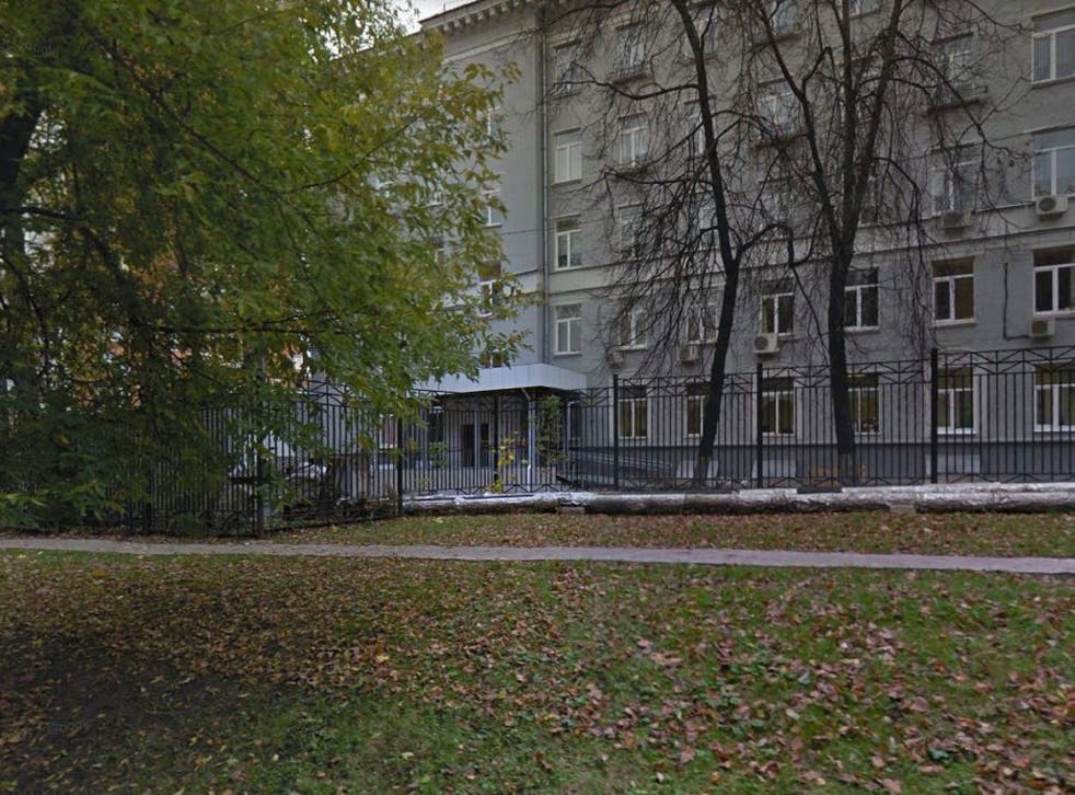 The incident is believed to have taken place at the Western Complex for Continuing Education in Moscow