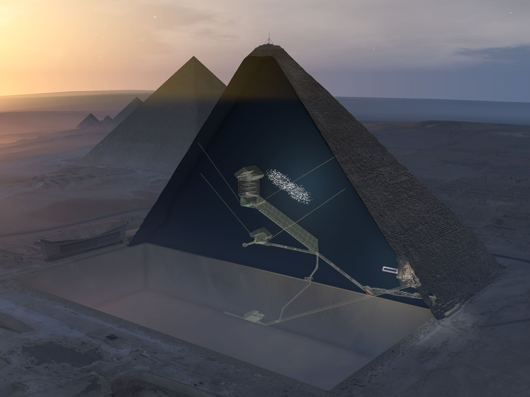 The Scientific and Religious Discoveries in Great Pyramid