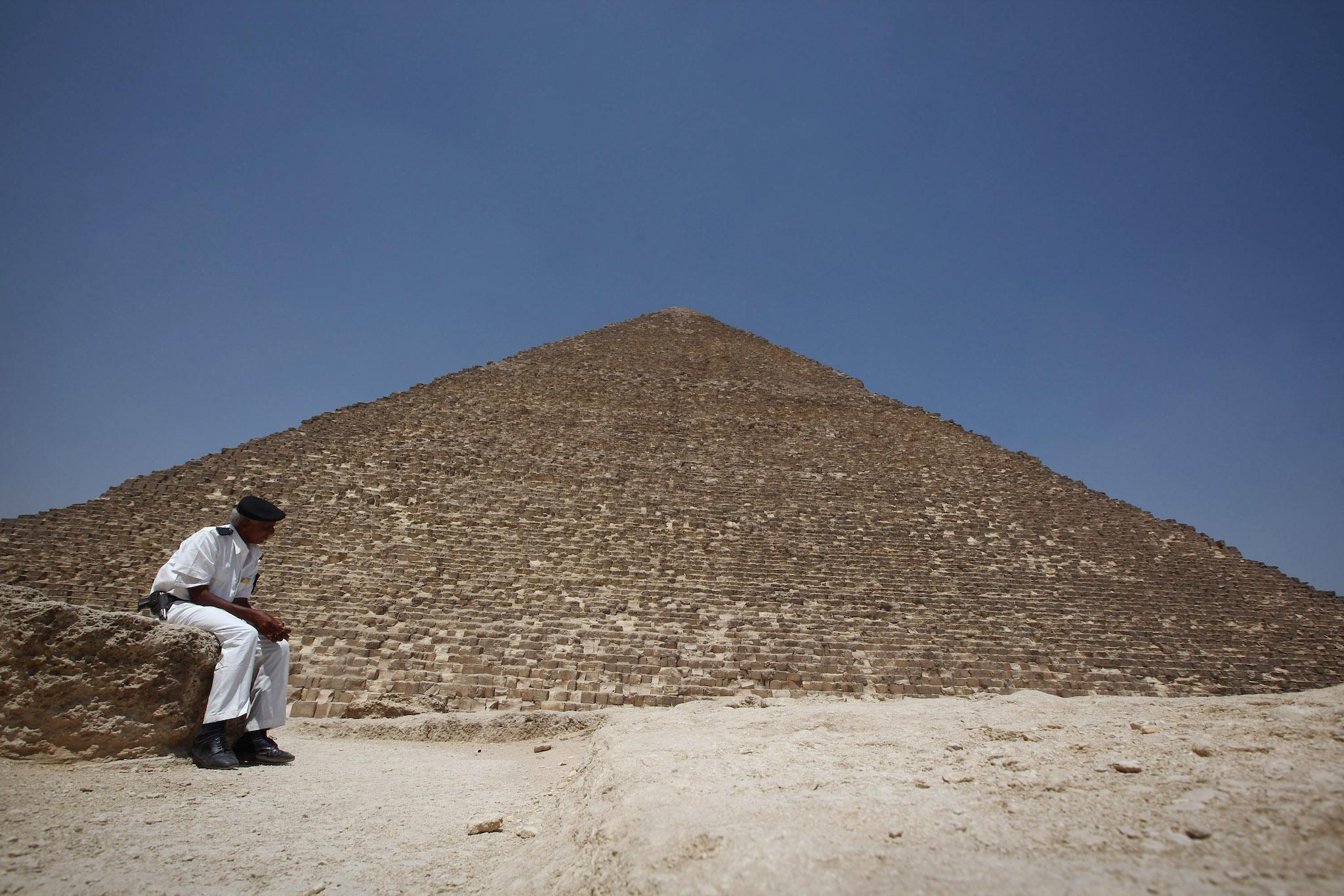 Great Pyramid Void How Was The Mysterious Hole Discovered