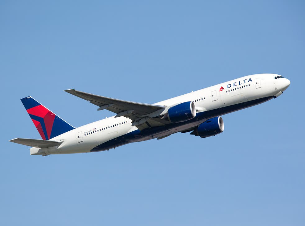 The incident took place on board a Delta Air Lines flight