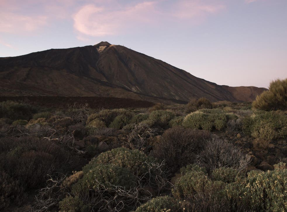 Mount Teide in Tenerife which is currently going through an inactivity period