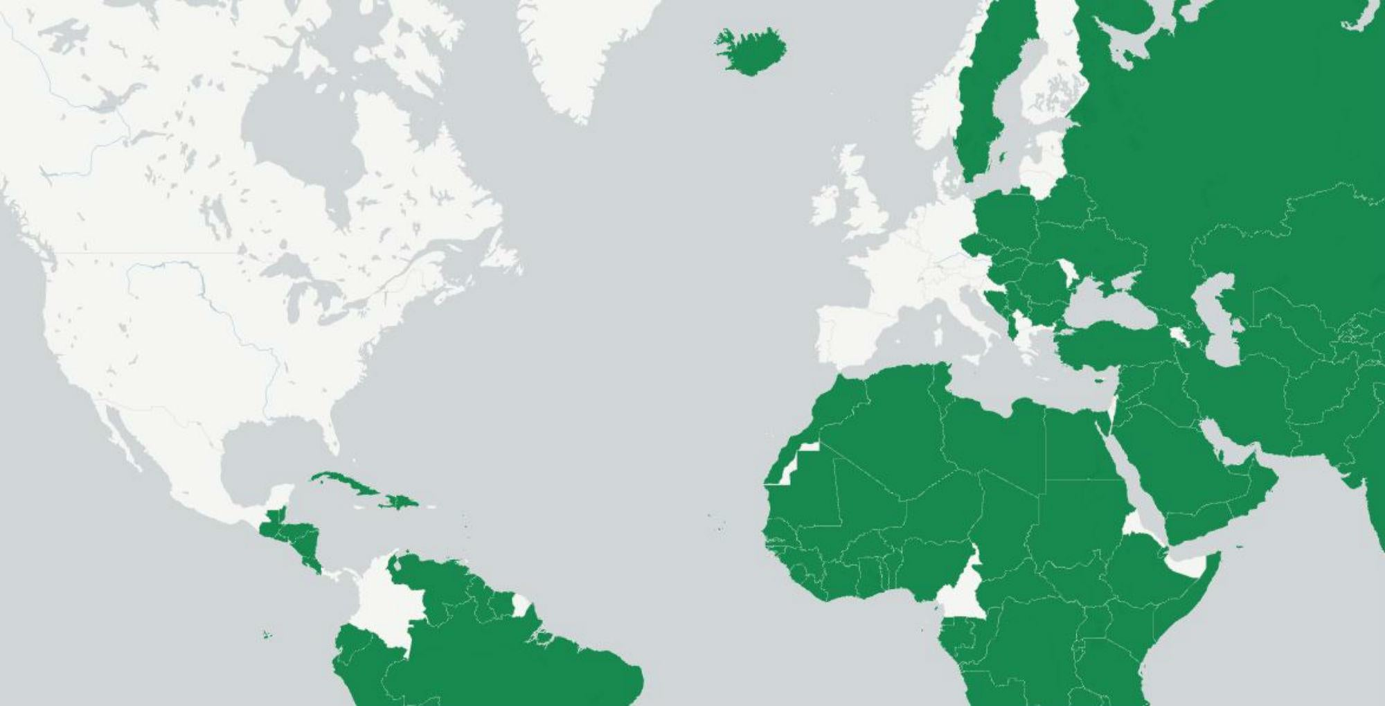 Image of: Which Countries Recognise Palestine Indy100