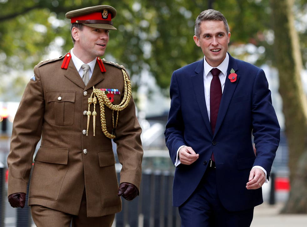 Gavin Williamson, a key Theresa May ally, was appointed Defence Secretary last month