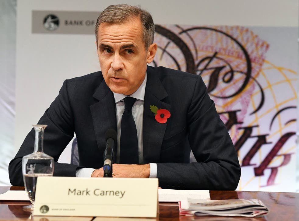 Mr Carney said that the Bank's central Brexit scenario involved a smooth transition for the UK