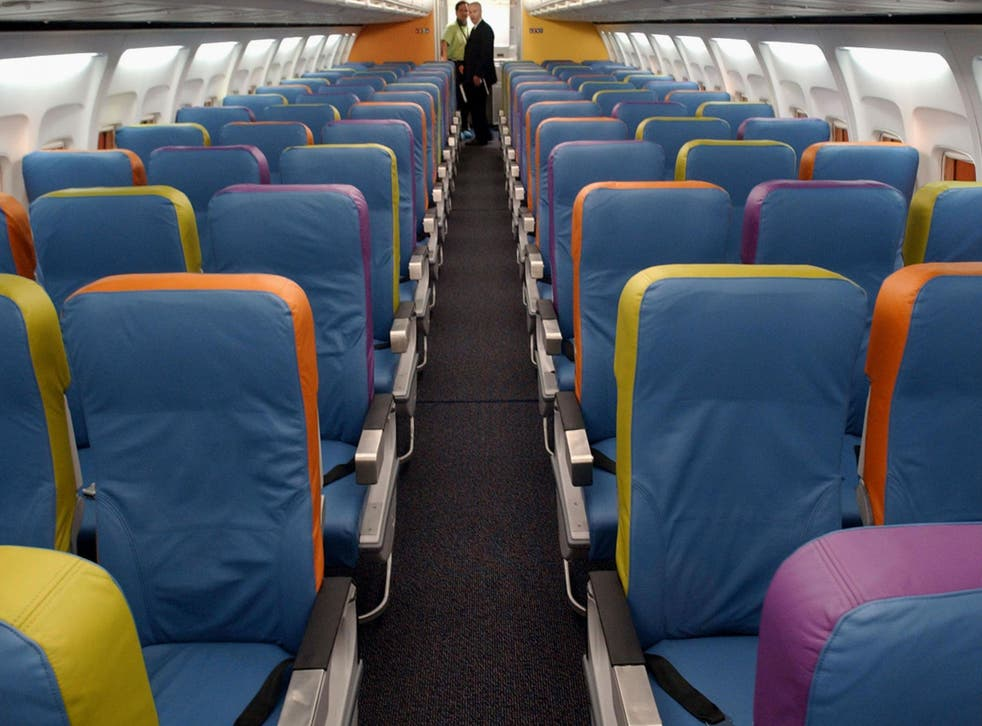 Fifteen per cent of passengers said they had been separated from friends or colleagues