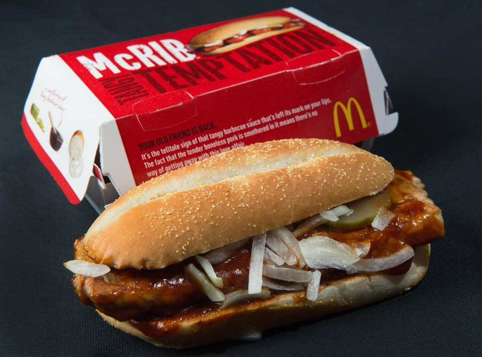 mcrib is back mcdonalds is returning customer pork favourite to its
