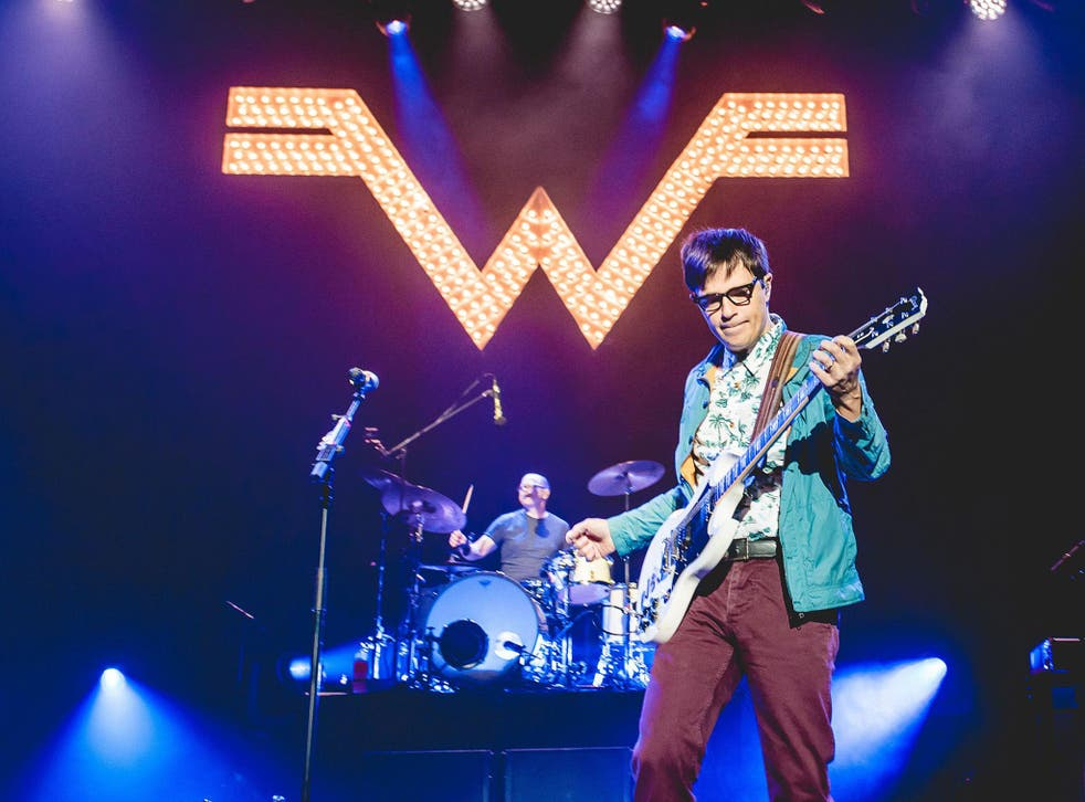 Weezer's Patrick Wilson and Rivers Cuomo