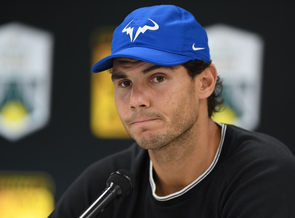 Nadal has pulled out of the Paris Masters