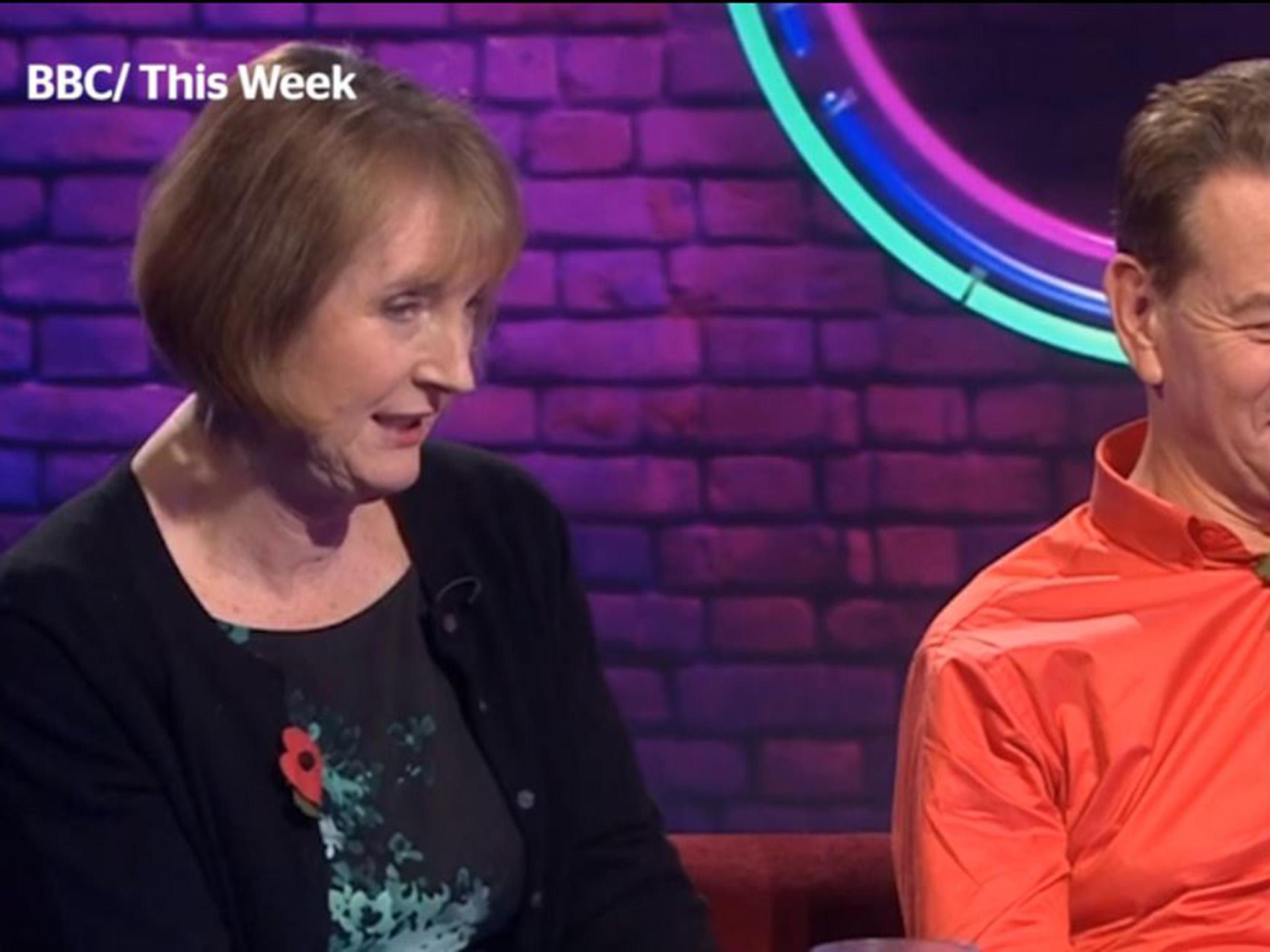 The awkward moment Harriet Harman accused a BBC presenter of finding antisemitism funny