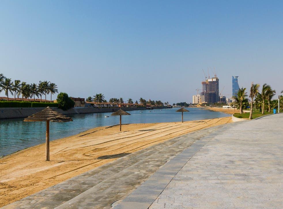 Saudi Arabia has plans for a new beach resort