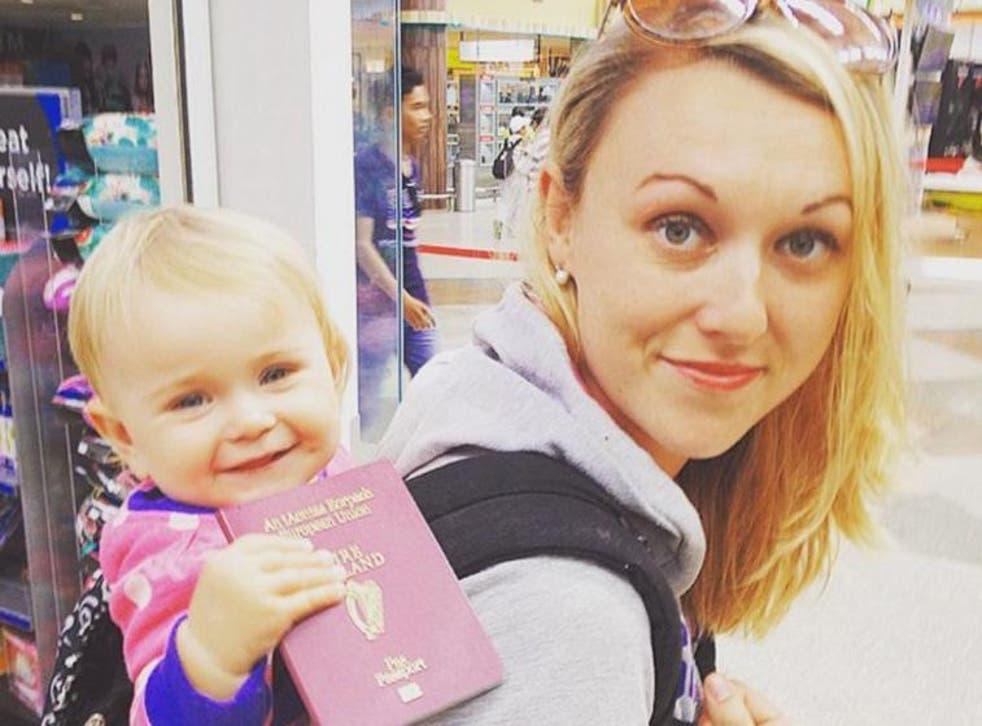 Travel Mad Mum Karen Edwards and her daughter, Esmé